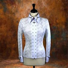 MEDIUM Showmanship Western Horsemanship Show Jacket Shirt Rodeo Queen Pleasure