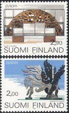 Finland 1993 Europa/Contemporary Art/Sculpture/Artists/Sculptors 2v set (s4559f)