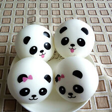 2X Randomly Panda Squishies Kawaii Buns Bread Smell Charms Cellphone Straps TC