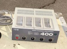 IDX i400 4-CH Sequential Fast Charger/Discharger for NP,BP & Ni-MH Batteries