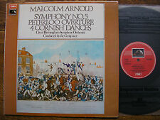 ASD 2878 ARNOLD: SYMPHONY No. 5 / CORNISH DANCES  ARNOLD / CBSO TAS LIST   NM