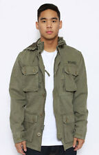 STUSSY SYSTEMS MILITARY ICE FIELD JACKET NWT NEW SZ X LARGE  WORLD TRIBE 0150153