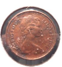 CIRCULATED 1971 1/2 NEW PENNY UK COIN!!! (#41615)