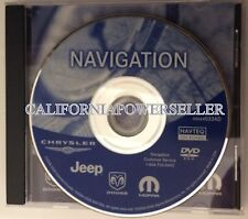 CHRYSLER DODGE JEEP NAVIGATION DISC DVD CD 033AD NAV MAP DISK VOYAGER GPS