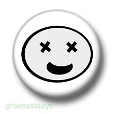 Starry Eyed Smiley 1 Inch / 25mm Pin Button Badge Smileys Emoticons Dazed Emo