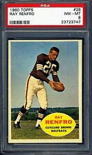 1960 Topps #26 Ray Renfro PSA 8 NM-MT *Cleveland Browns*
