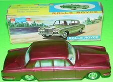 TELSALDA  1960s Hong Kong EMPIRE  friction Plastic ROLLS ROYCE #B1096 WITH BOX