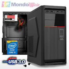 PC Computer Desktop Intel i5 7400 3,00 Ghz - Ram 16 GB 2400 Mhz - SSD 480 GB