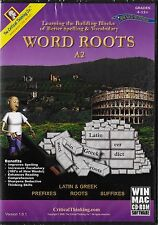 Word Roots A1 Critical Thinking CD Greek &  Latin Gr 4+ Vocabulary