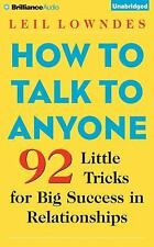 7 CD How to Talk to Anyone : 92 Little Tricks for Big Success Leil Lowndes