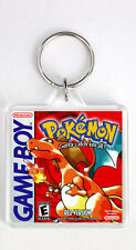 POKEMON RED VERSION NINTENDO GAME BOY KEYRING LLAVERO