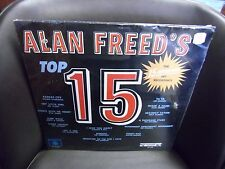 Alan Freed Top 15 Original Hits [Etta James Spaniels Edna McGriff] LP Sealed