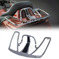 Chrome Motorcycle Trunk Luggage Rack Goldwing Aluminum For Honda GoldWing GL1800