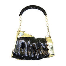 Carabao Horn with Mother of Pearl Minaudiere / Evening Shoulder Bag