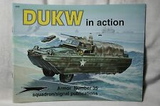 DUKW in Action Squadron Signal Armor book # 2035 Like New