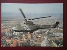POSTCARD AIR HELICOPTER  - WESTLANDS SA 330 PUMA