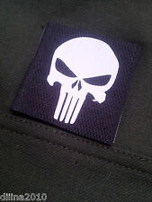 PATCH VELCRO NOIR - PUNISHER - Airsoft NAVY SEAL SEALS US ARMY PAINTBALL