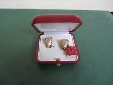 MAJORICA PEARL EARRINGS GOLD PLATED ON 925 SILVER
