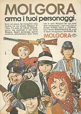 X9811 MOLGORA arma i tuoi personaggi - Pubblicità 1975 - Advertising