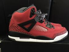 Jordan Spizike Sneaker Size 11in Men's. Red/Black/Dark Grey/White