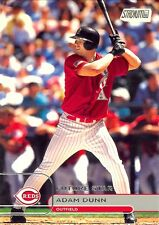 2002 ADAM DUNN STADIUM CLUB FUTURE STAR #101 1263/2999! FREE SHIP & BONUS! REDS!