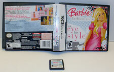 Barbie Fashion Show  An Eye for Style (Nintendo DS, 2008)