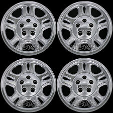 "4 CHROME 07-11 Dodge NITRO 16"" Wheel Skins Hub Caps Center Rim Full Covers New"