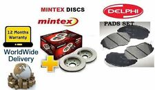 FOR ROVER CITYROVER CITY 1.4 2003-  NEW FRONT BRAKE DISCS SET & DISC PADS KIT