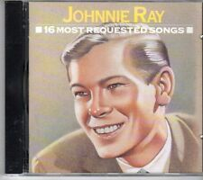 (DV899) Johnnie Ray, 16 Most Requested Songs - 1991 CD