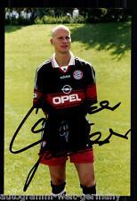Carsten jancker Super ak foto bayern munich 1997-98 (3) ORIG. firmado