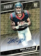 2016 Panini National VIP Superfractor Will Fuller Auto Rc # 1 of 1 A TRUE 1/1