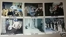 "{Set of 12} Escape of the Birdmen (Doug McClure) Org. 8x10"" U.S Lobby Cards 70s"