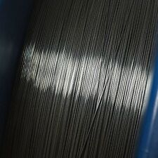 """0.5 mm (22 awg, 0.02"""") Nitinol shape memory alloy 70 C (158 F) wire, by the foot"""