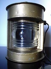 ANCIEN FANAL LAMPE DE MARINE OLD NAVY LAMP