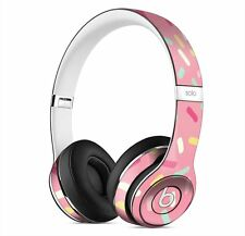 Pink Donut Sprinkles Skin for Apple Beats By Dre Solo 2 Wireless Headphones