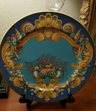 "VERSACE  BY ROSENTHAL, ""LES TRESORS DE LA MER""  XL CHARGER PLATE MERMAIDS"
