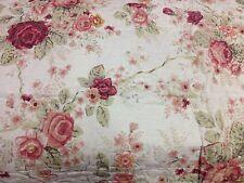 100% Cotton King Size 3pcs Pictorial Quilt-Reversible(2 Designs) 2 shams QT12-17
