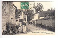 CPA  OUILLY LE TESSON 14 - VILLAGE D'ASSY AGRICULTURE VACHE HABITANTS 1910 ~B08