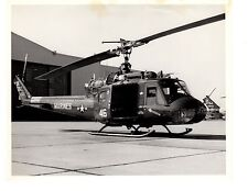 Bell Huey Navy Helicopter Photograph 8x10 BW