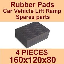 Universal Scissor Lift Pads - H80 - Ramp Rubber Blocks - Made in Italy