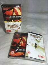 Double Pack Metal Gear Solid & Silent Hill Origins Sony PSP Playstation Portable