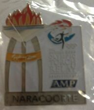 NARACORTE Sydney 2000 Olympic Torch Relay AMP Sponsor Cauldron Pin
