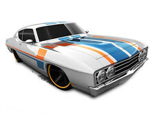 Hot Wheels Cars - '69 Ford Torino Talladega Silver