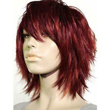 NEW style short red health hair Wig wigs for modern women