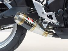 Competition Werkes Carbon Slip-On Exhaust for 2011-2014 Honda CBR250R / WH250