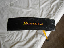 Momentus Training Aid Putter Golf Club Heavy Steel (3+#) Shaft Original Grip.