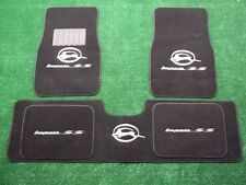 CHEVY IMPALA SS FLOOR MATS 1994,1995,1996 CARPETS CUSTOM EMBROIDERED