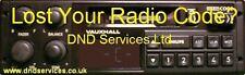 Vauxhall RADIO CODE SBLOCCO DECODE per numero di serie-DC 670 dc670 681 dc681