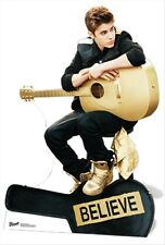 Justin Bieber Guitar Believe Special Ed. Official Celebrity Cardboard Fun Cutout