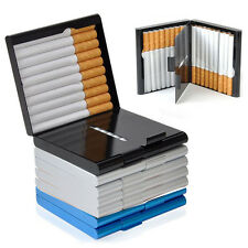Stylish Mes's  20 Cigarettes Storage Case Box Tobacco Cigar Container Holder New